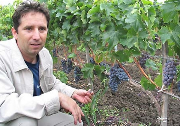 Gyorgy Lorincz tasting Kadarka