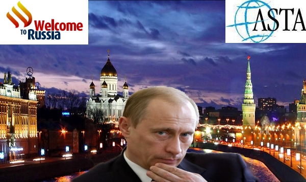 Russia on the move in world travel