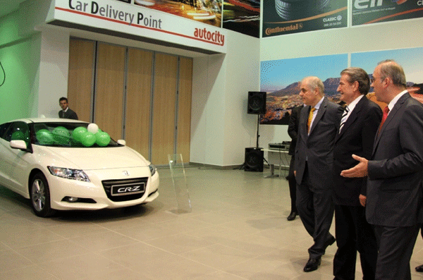 "Prime Minister Sali Berisha attended the inauguration ceremony of the ""Auto City"" Complex"