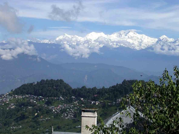 Darjeeling view in the morning.