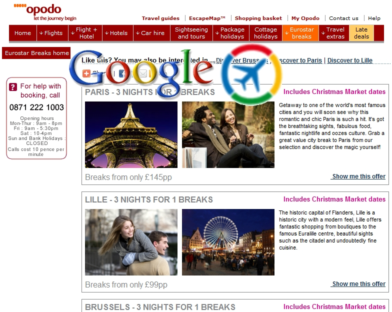 Google Travel, is it a certainty?