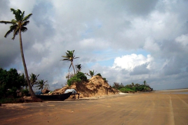 The seclusion of Mandarmani Beach
