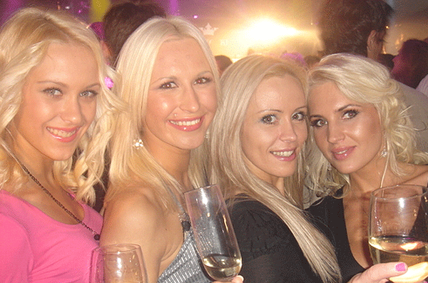 Some of the Olialia's blond employees.