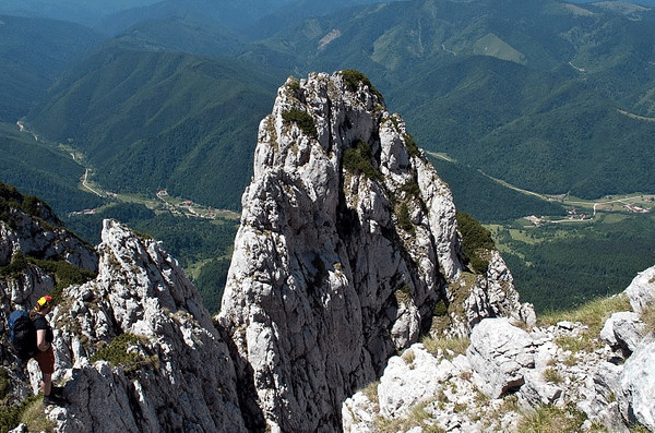 """Piatra Craiului"" (English: ""Rock of the King"")"