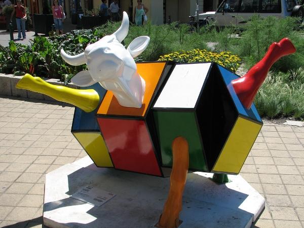 Rubiks Cow