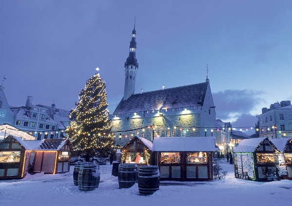 A storybook Tallinn at Christmas