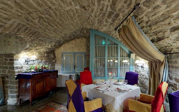 Dining room at Hotel Schlössle