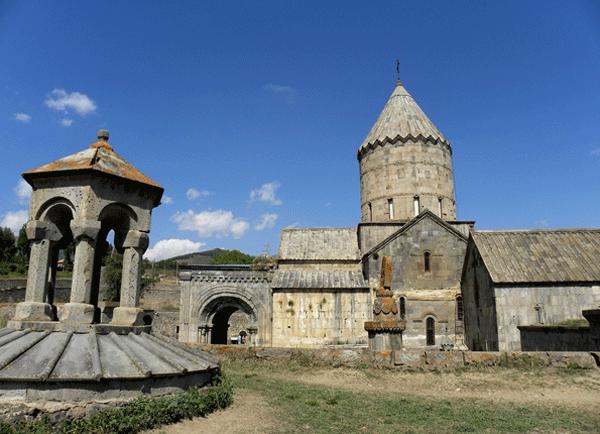 The Monastery of Tatev - yard