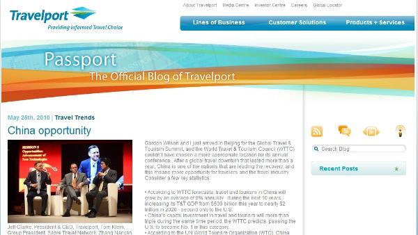 Travelport not engaged