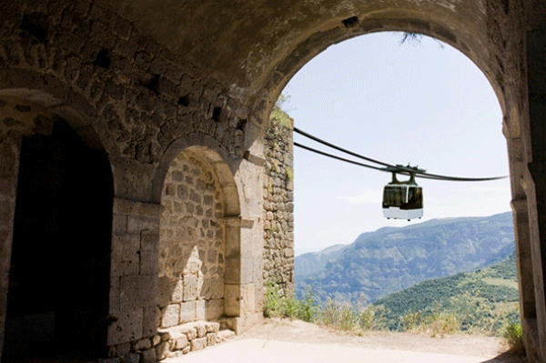Wings of Tatev, the world's longest aerial tramway