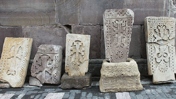 Khachkars at Makaravank Monastery