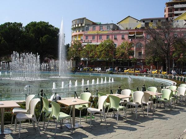 Taiwan square, Tirana