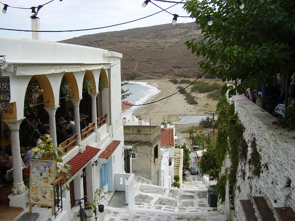 Andros Chora, be transported