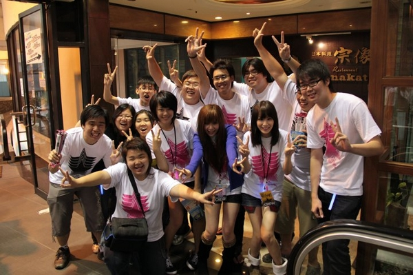 Anime Festival fans