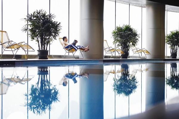 Fraser Residence Shanghai pool