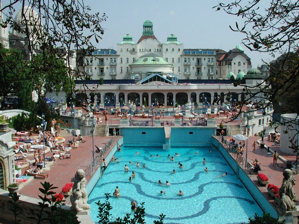 Hotel Gellert Baths