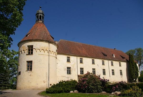 Livonia order castle