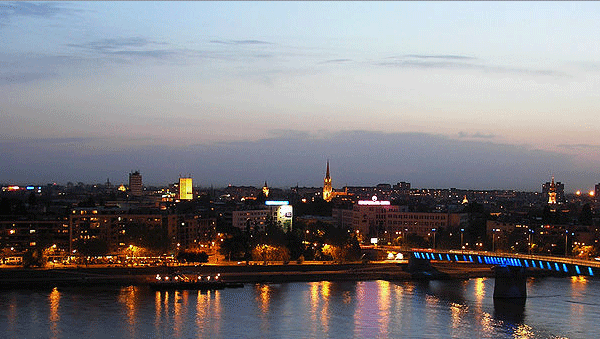 Breathtaking Novi Sad, the capital of the northern Serbian province of Vojvodina.