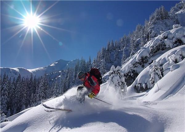 Skiing Slovakai