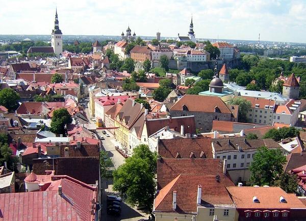 Tallinn city centre