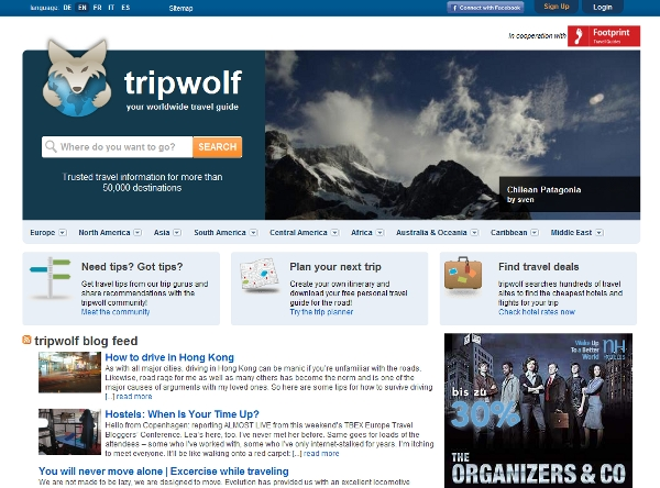 Tripwolf landing