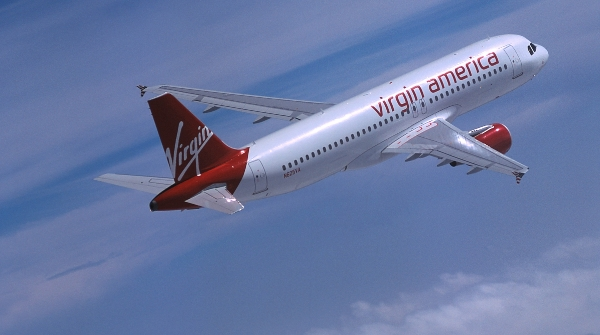 Take off with Virgin America this Cyber Monday