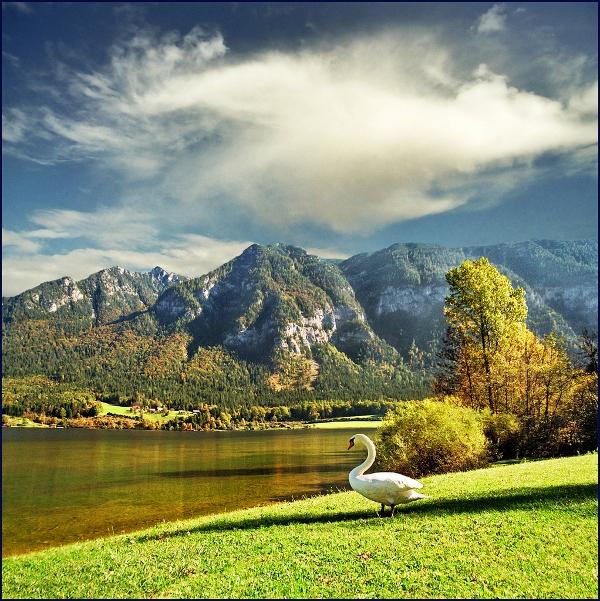 Wolfgangsee, one of Austria's treasures