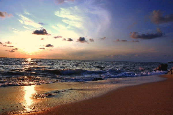 Sunrise at Desaru Beach