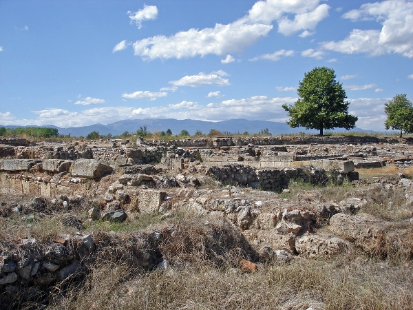 The ancient Macedonian city of Dion
