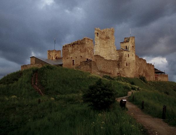 Castle in the Estonian countryside