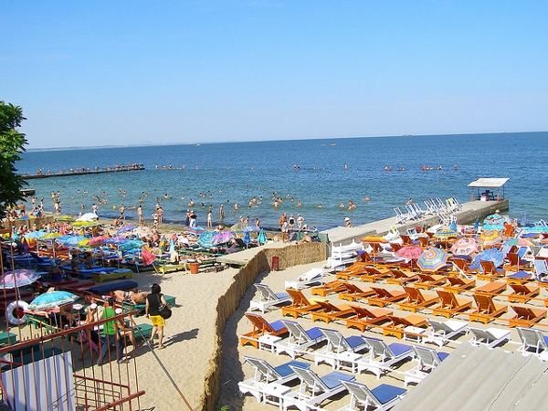 Odessa and the beaches on the Black Sea
