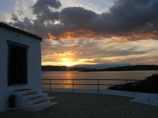 Porto Heli Greece sunset