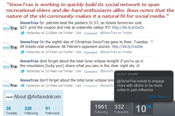 Corporate dogma reveals SnowTrax marketing nature