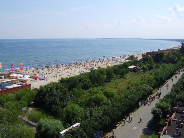 Beach at Sopot, Poland