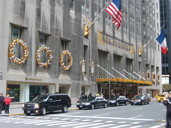 The Waldorf Astoria Goes Glitzy