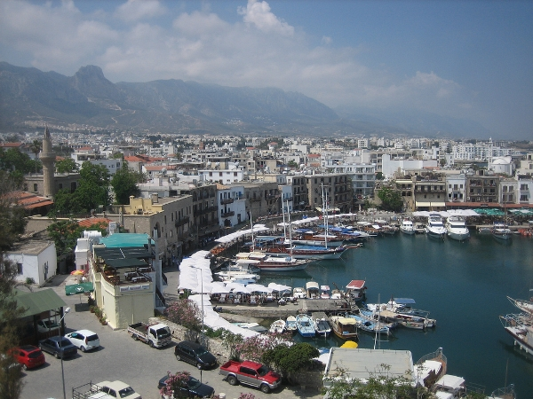Kyrenia Harbor and casinos