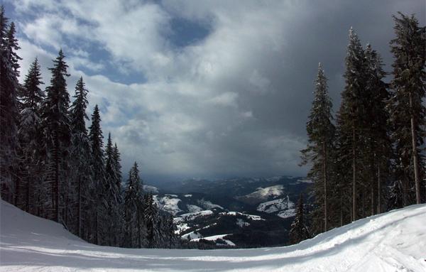 Pamporovo's scenic beauty.