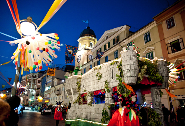 Rijecki karneval is one of the biggest carnivals both in Croatia and in the world.
