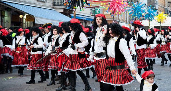 The Rijeka Carnival is one of the largest in Europe and the World.