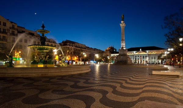 The Rossio - Pedro IV Square