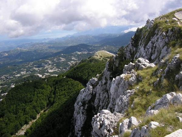 View from Jezerski vrh