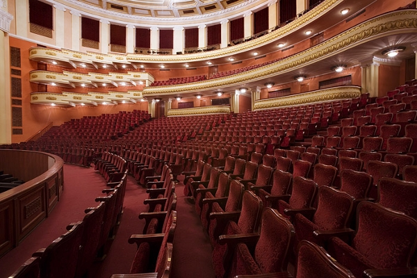 Inside the Alexander Spendiaryan State Academic Opera and Ballet Theatre