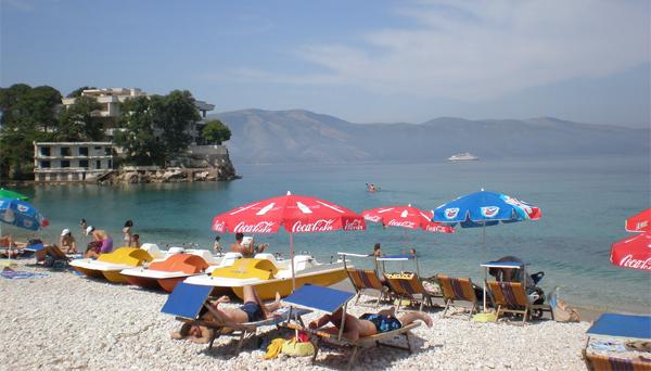Vlora - the second major Albanian port after Durrës.