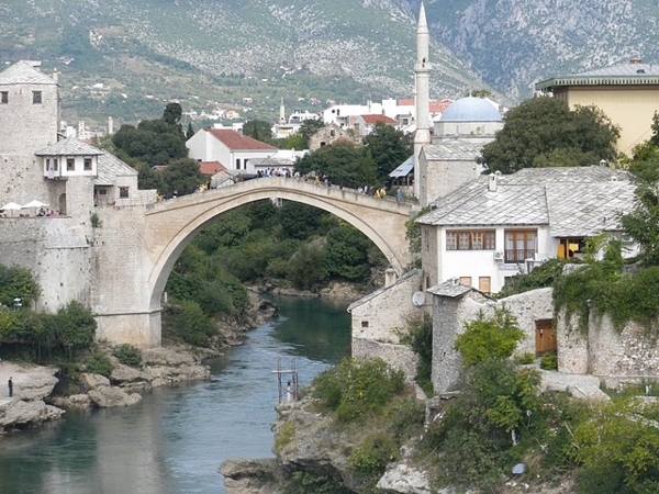 A scenic bridge in Bosnia Herzegovina
