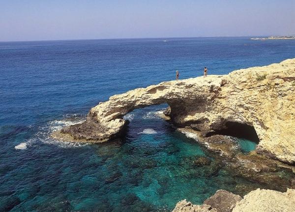 Cape Greco's fantastic sea caves