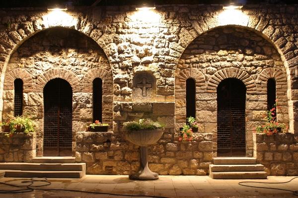 Inside St. Petka Chapel - Belgrade, Serbia