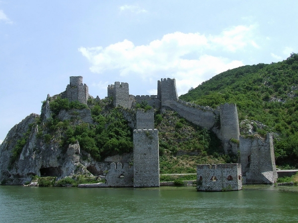 Golubac Fortress on the Danube