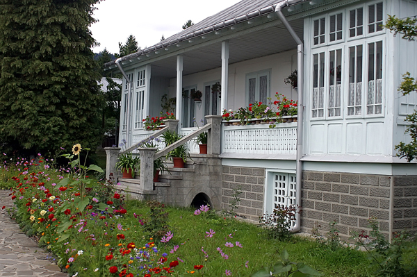 Not your typical Romanian home, but a place inhabited by nuns.