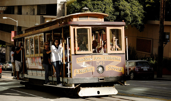 San Francisco cable car rides
