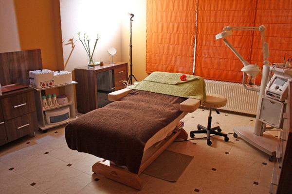 Velvet Spa cosmetics room